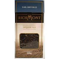 Чай черный листовой органический Эрл Грей Richmont, 100г