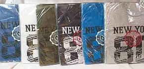 Футболка мужская коттон New York цвета разные размер С М Л, фото 2