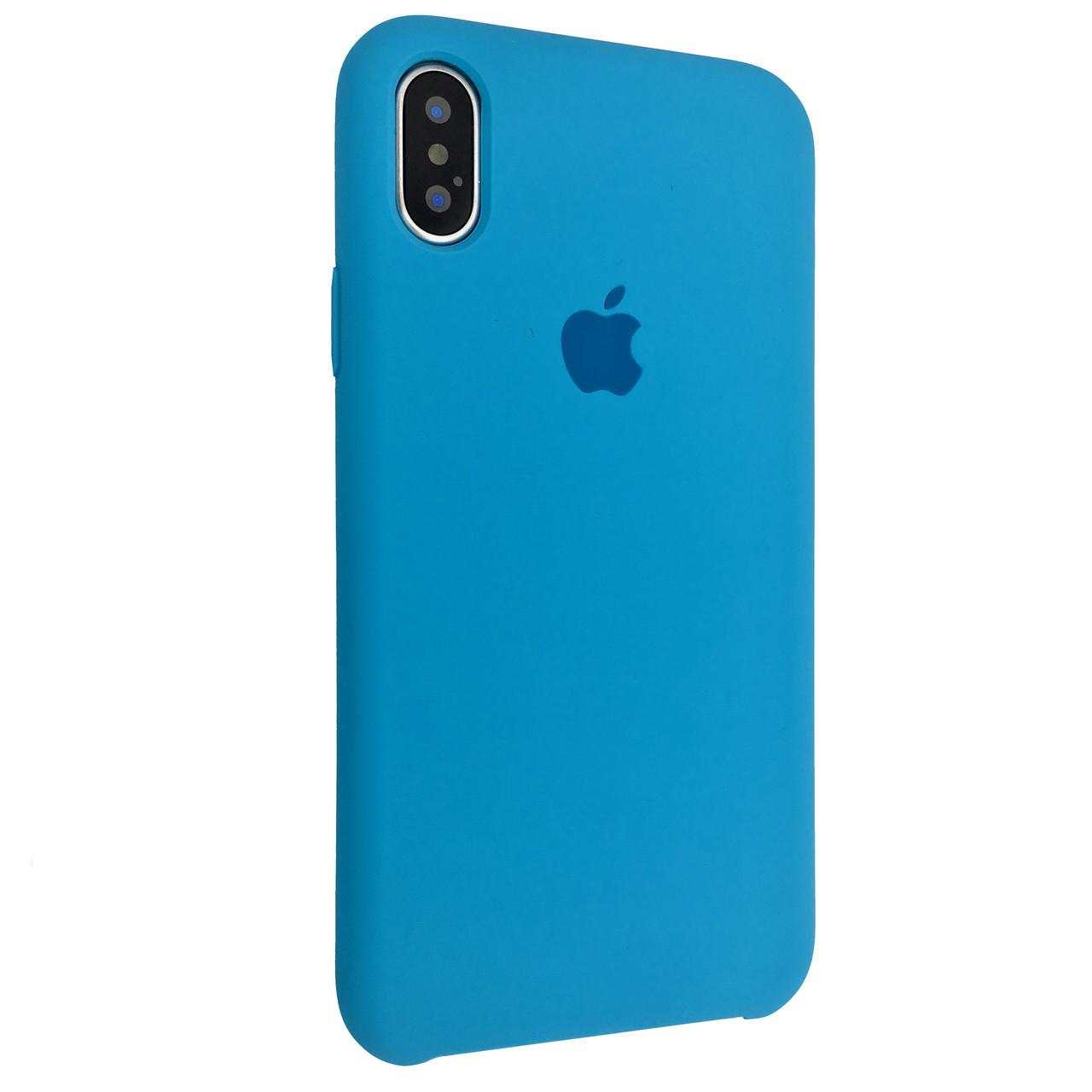 Чехол Silicone Case Apple iPhone XS (16)