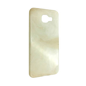 Чехол Мрамор Samsung A510 (cream)