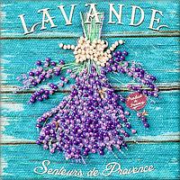 Магнит для вышивания бисером Лаванда