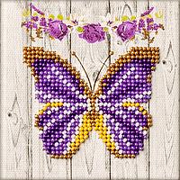 Магнит для вышивания бисером Бабочка