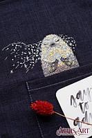 Набор для вышивки крестом на одежде Белёк