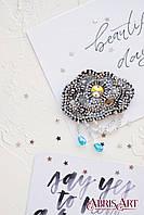 Набор для вышивки украшения Серебряные нити