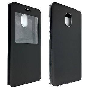 Чехол -книжка силиконе Meizu M6 (black)