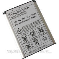 Аккумулятор Sony Ericsson BST-36 (J300i, K310i, K320i, K330i, K510i), ОРИГИНАЛ