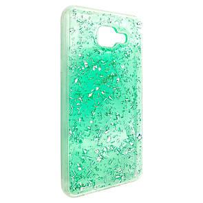 Чехол-накладка DK-Case Shalakur силикон для Samsung A310 (green)