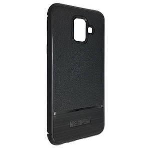 Чехол-накладка DK-Case силикон South Carbon для Samsung A8 Plus (black)