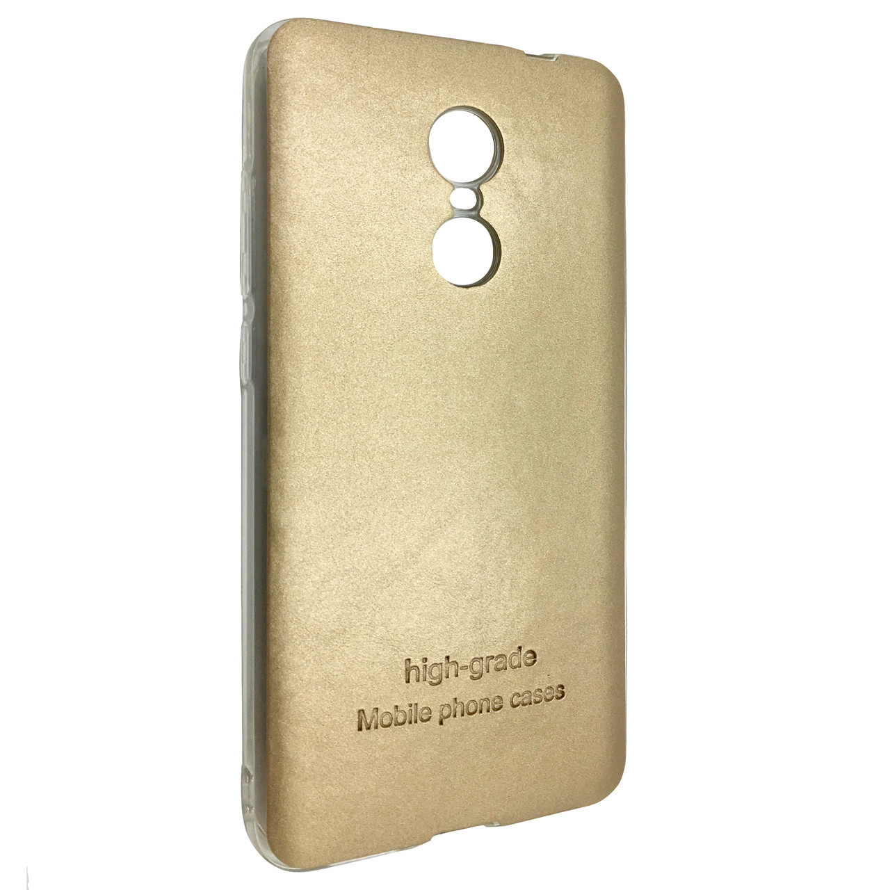 Чехол  Xiaomi Note 4X (gold)