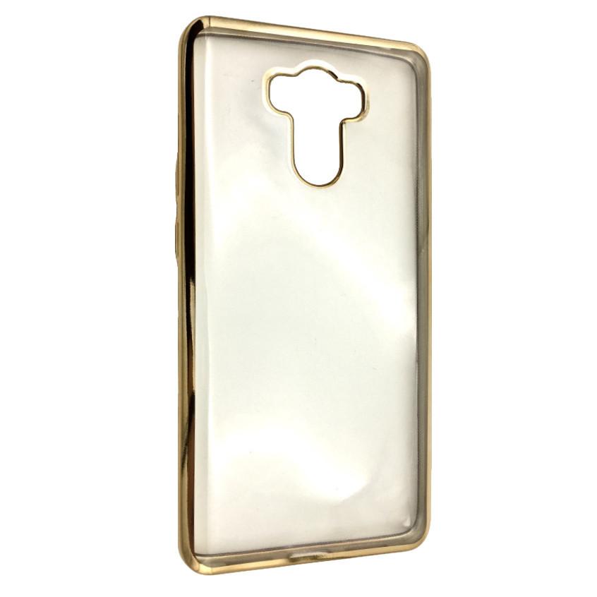 Чехол с хром бортом Xiaomi Redmi 4/4 Prime (gold)