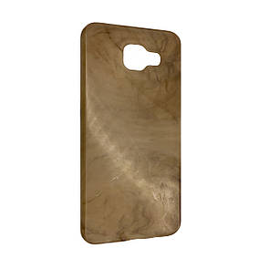Чехол-накладка DK-Case силикон Мрамор для Samsung A310 (coffee)