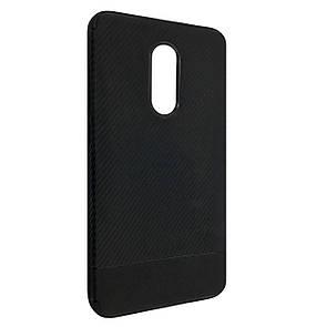 Чехол-накладка DK-Case силикон South Carbon для Xiaomi Redmi Note 4X (black)