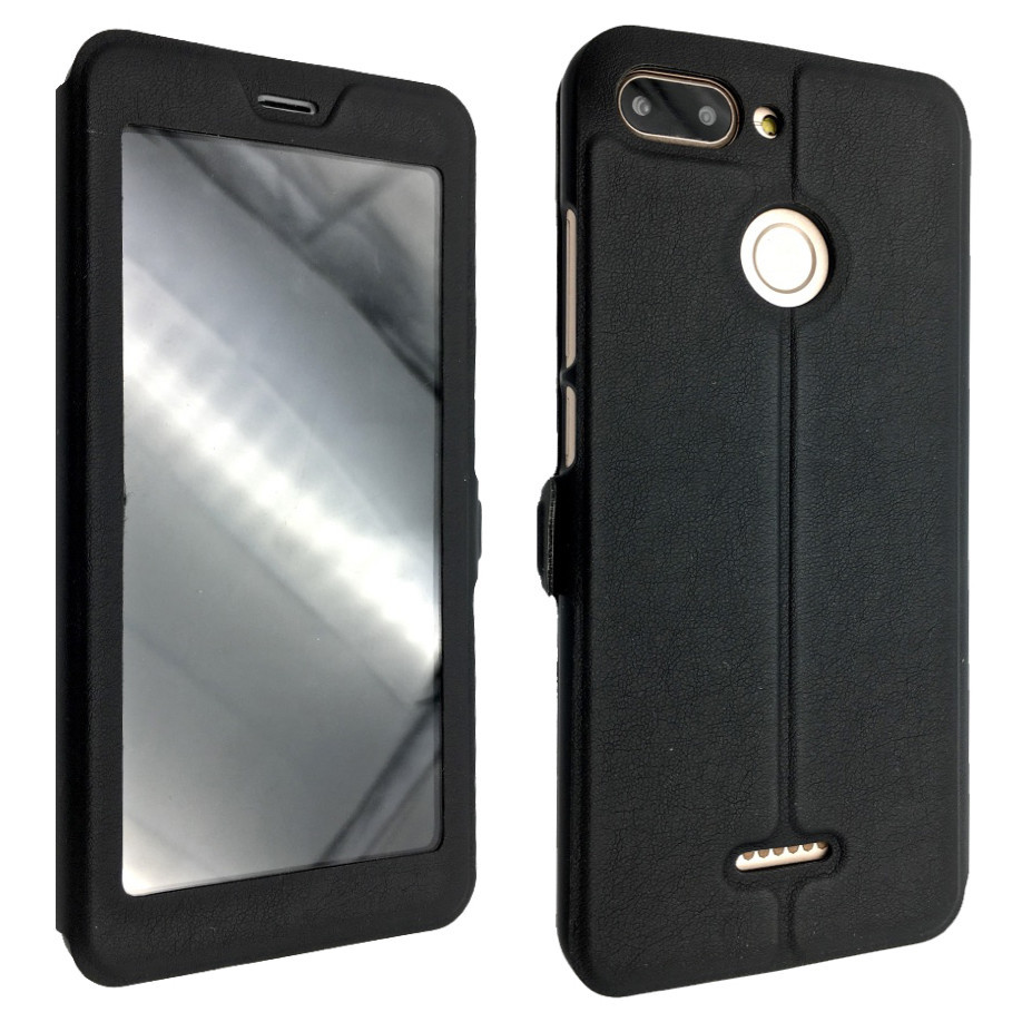 Чехол -книжка кожа пластике Flip Cover Magnetic Xiaomi Redmi 6 (black)