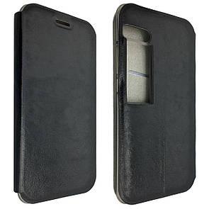 Чехол-книжка DK-Case кожа с силиконом Smart для Meizu Pro 7 (black)