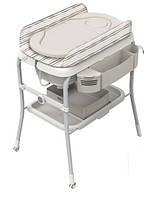Пеленальный Столик с Ванночкой Comfort Silver Chicco 707934849