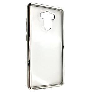 Чехол-накладка DK-Case силикон с хром бортом для Xiaomi Redmi 4/4 Prime  (silver)