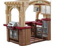 Оригинал. Интерактивная детская кухня с грилем Maxi Step2 8214