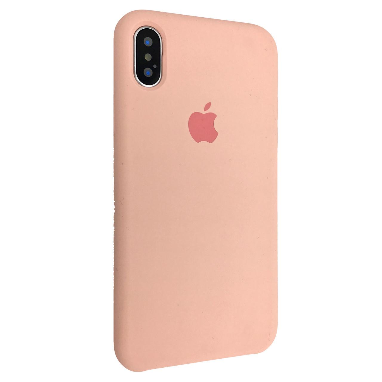 Чехол Silicone Case Apple iPhone XS Max (12)