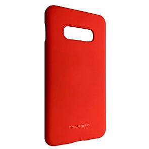 Чехол-накладка силикон Hana Molan Cano для Samsung S10e (red)