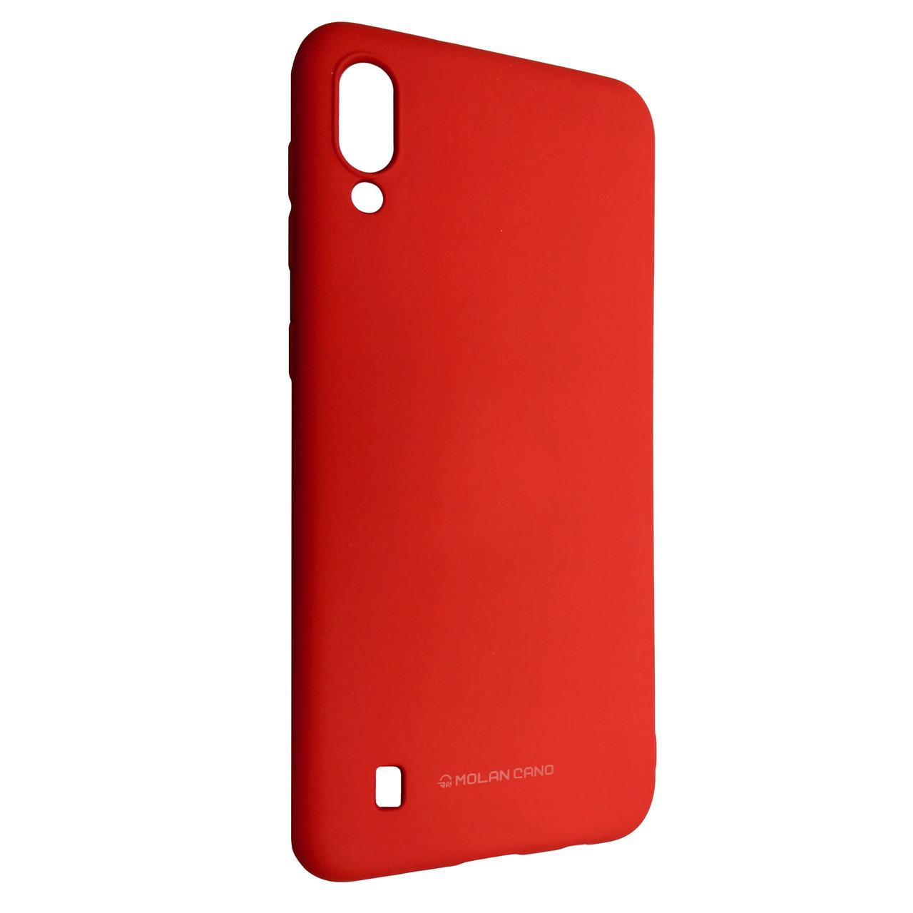 Чехол Silicone Hana Molan Cano Samsung M10 (red)