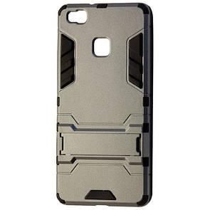 Чехол-накладка DK-Case силикон с пластиком Transformer для Huawei P9 Lite (grey)