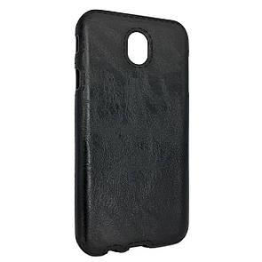 Чехол-накладка DK-Case силикон кожа Sitched для Samsung J530 (2017) (black)