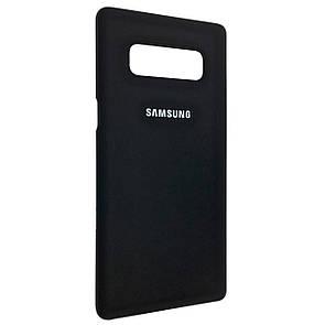 Чехол-накладка DK-Case пластик софт-тач открытый для Samsung Note 8 (black)