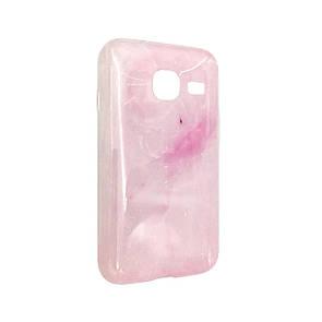 Чехол-накладка DK-Case силикон Мрамор для Samsung J105 (pink)