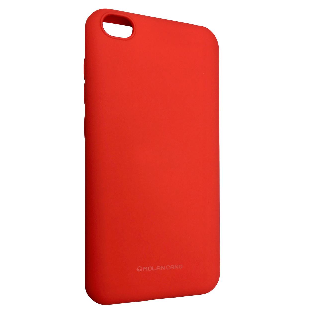 Чехол Silicone Hana Molan Cano Xiaomi Redmi Go (red)
