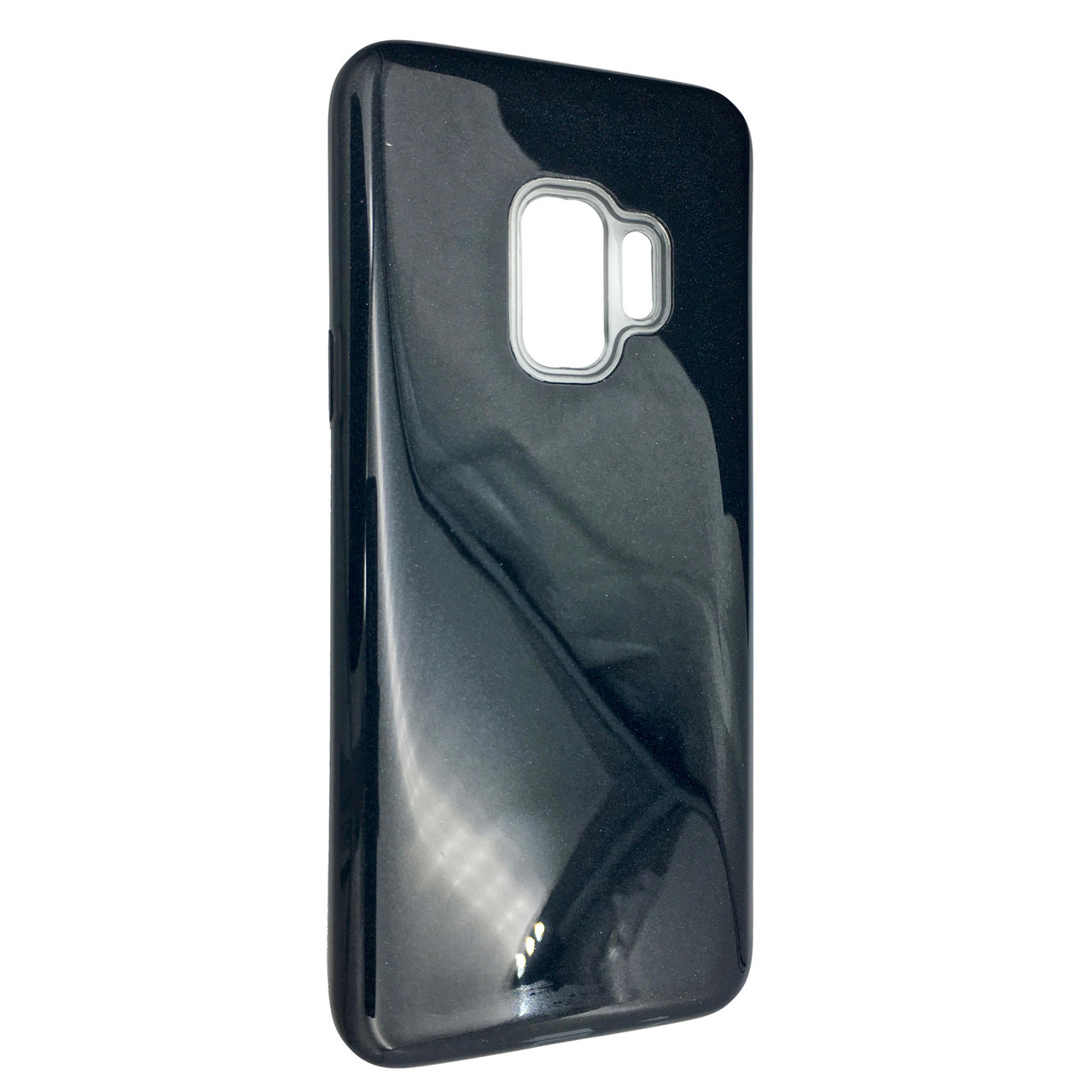 Чехол Silicone Glitter Heaven Rain Samsung S9 Plus (dark)