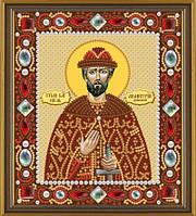 Набор для вышивания бисером(с камнями) икона Св. Блгв. Великий Князь Димитрий (Дмитрий) Донской