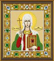 Набор для вышивания бисером(с камнями) икона Св. Равноап. Нина Просвет. Грузии