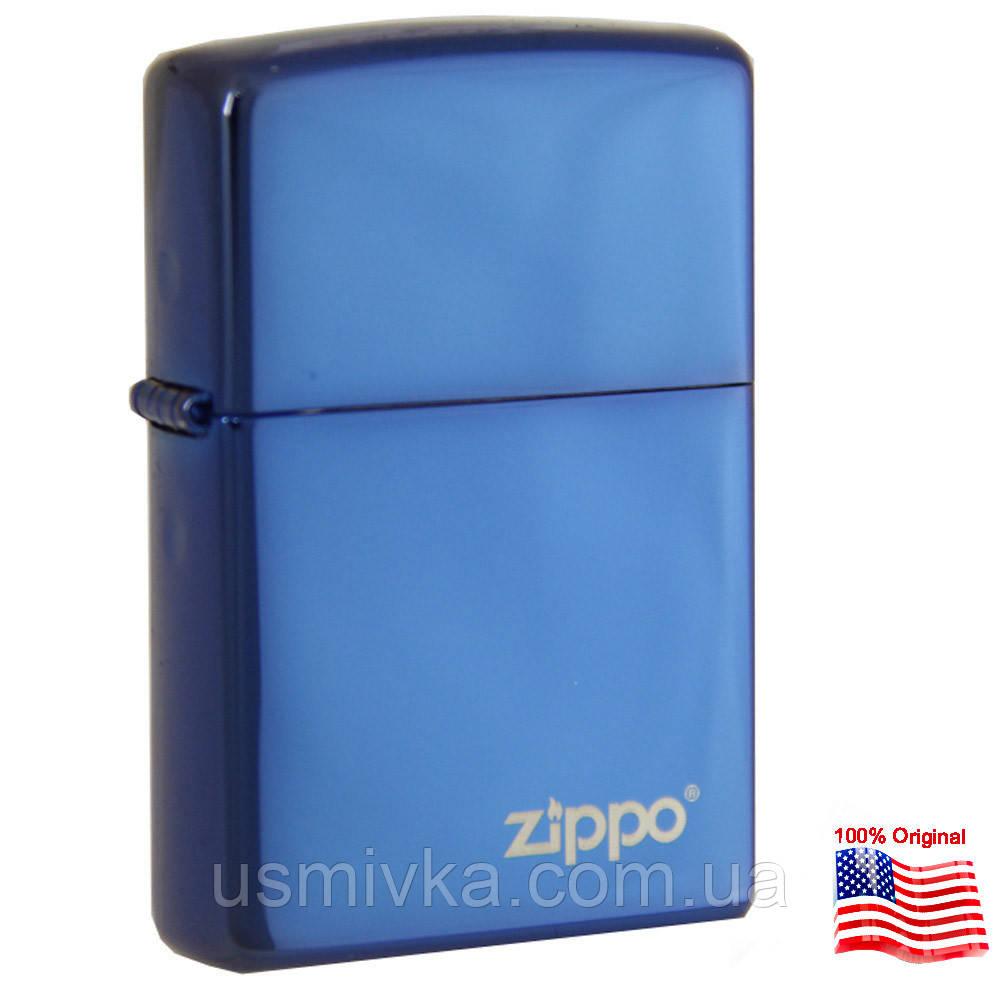 Зажигалка бензиновая Zippo 20446 ZL Sapphire Сапфир.