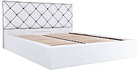 Кровать мягкая двуспальная Мелисса Richman. Ліжко м'яке двоспальне Мелиса