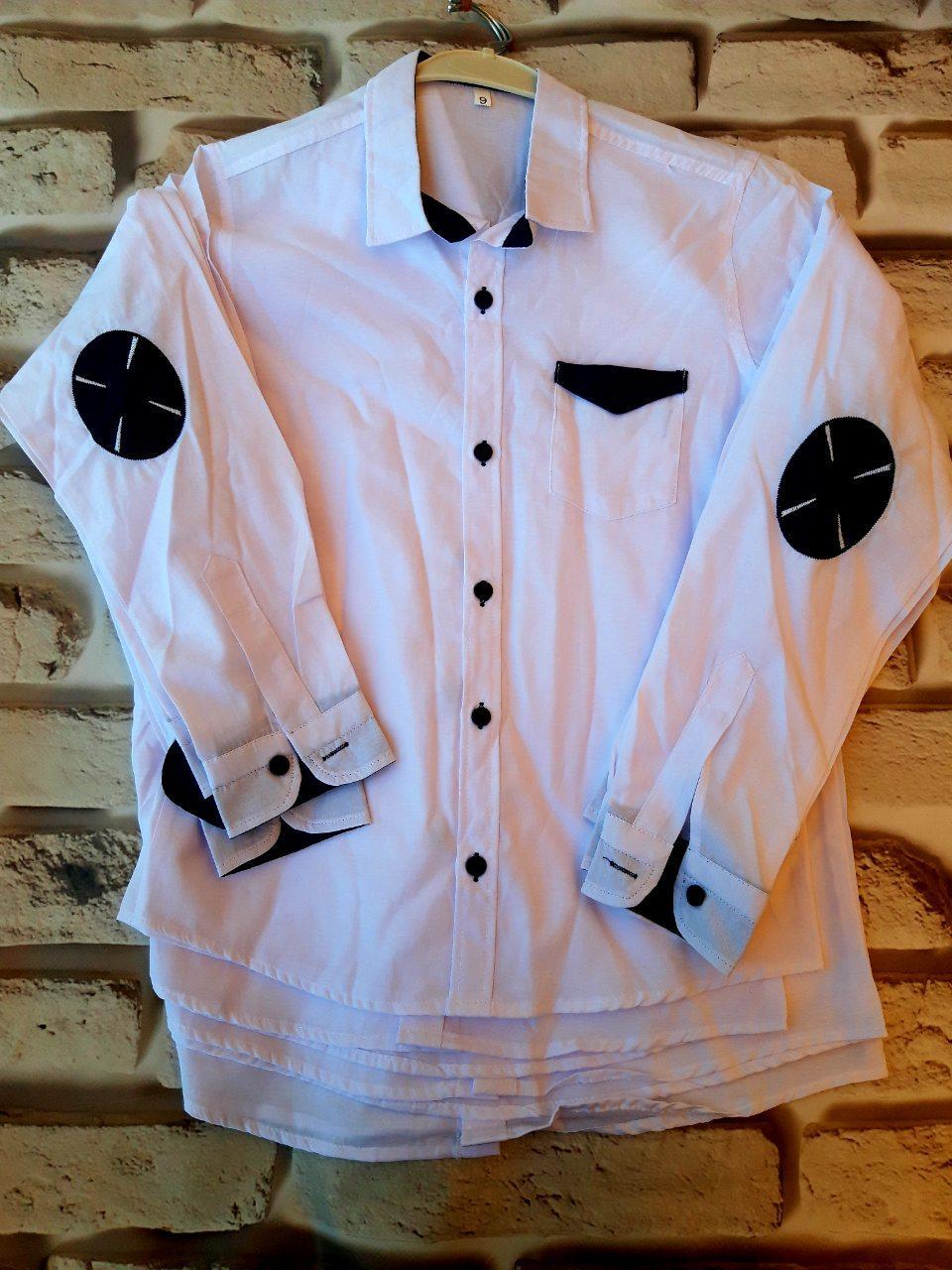 Рубашка на мальчика школа
