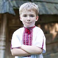 Вишиванки для хлопчиків (домоткана тканина, ручна вишивка, 1-14 років)