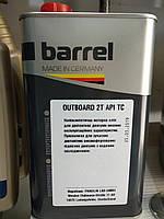 Масло BARREL Outboard 2T лодочный мотор 1л TC