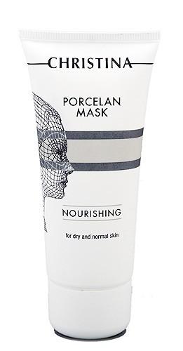 Питательная фарфоровая маска для сухой и нормальной кожи, 60мл