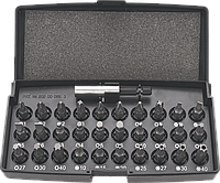 Набор Neo 06-103 из 30 отверточных насадок и битодержателя в пластиковом кейсе, фото 1