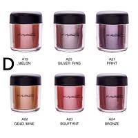 Пигменты MAC Pigment / палитра D