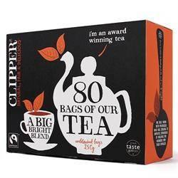 Чай черный органический Clipper, 80п.х3,1г