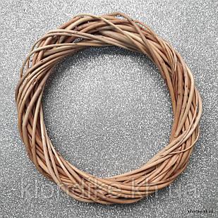 Венок из лозы, натуральный, 30-32 см, Цвет: Коричневый