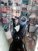 Дырокол для кожи револьверный strengthen punch plier (6 дырок), фото 1
