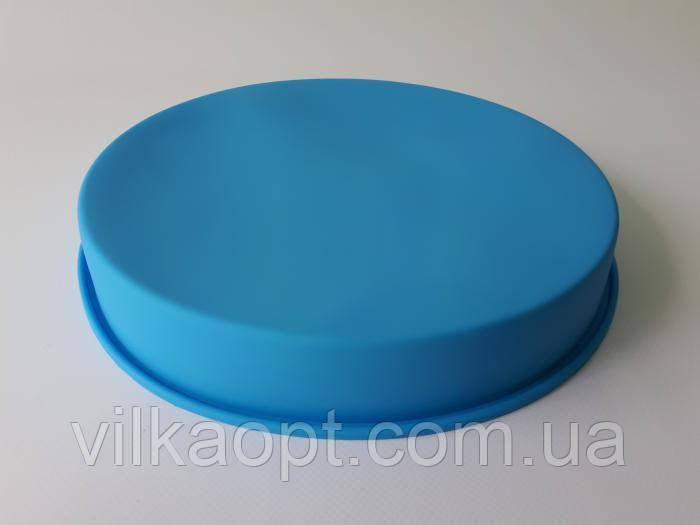 Форма силиконовая для выпечки d 27cm* h 3,8cm