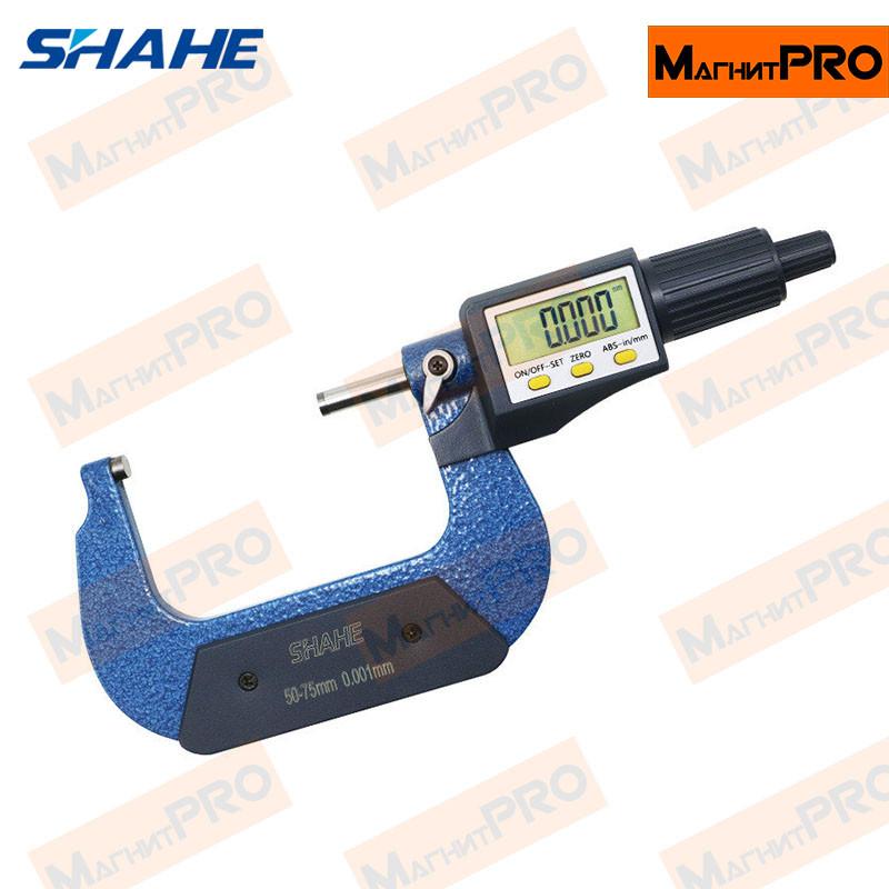 Микрометр цифровой Shahe 5205-75 (50-75мм)
