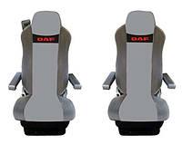 Чехлы на сиденья DAF XF105 (2006 г - ... ), 95XF (1997 г - ...) серые