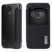 Чехол книжка Rock Samsung G900H Galaxy S5 Black