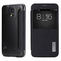 Чехол книжка Rock Samsung G900H Galaxy S5 Black