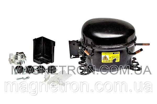 Компрессор для холодильника SECOP HVY75AA R600a 117W, фото 2