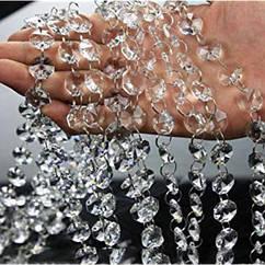 Кристаллы на кольцах прозрачные